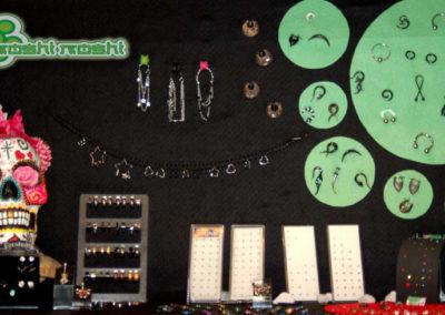 Accesorios, pendientes, piercings