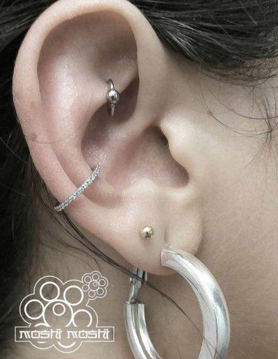 piercing aro oreja pamplona
