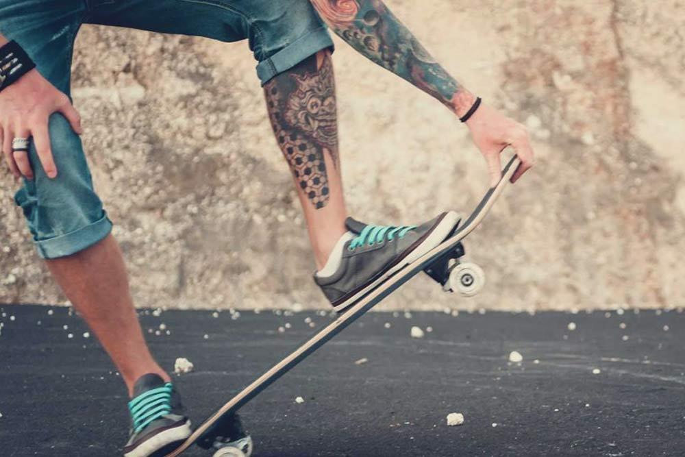 tatuajes piernas para hombre